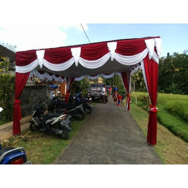 Rumbai Tenda pesta Merah Putih
