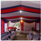 Plafon Tenda pesta model Serut 5