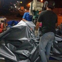 Terpal tenda plastik