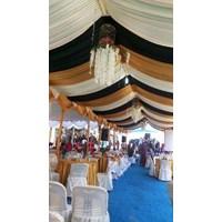 tenda pesta model plafon sisir