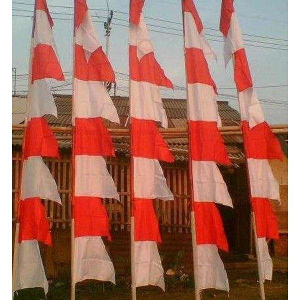 umbul-umbul bendera rumbai tenda pesta