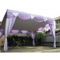 Tirai tiang tenda pesta Murah 5