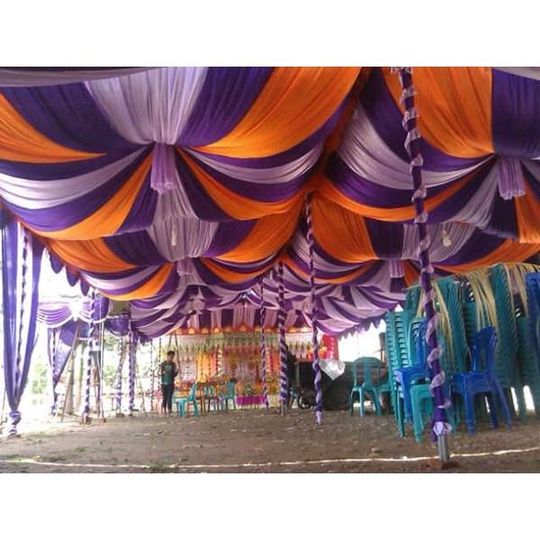 plafon tenda pesta model balon