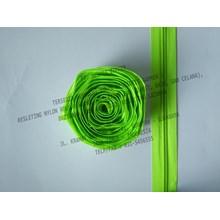 MZ Resleting Nylon No. 5 - Hijau Stabilo
