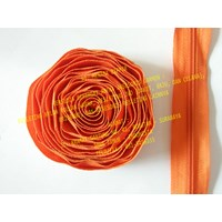 Jual MZ Resleting Nylon No. 5 - Orange
