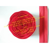 Jual MZ Resleting Nylon No. 5 - Merah Red