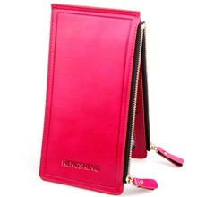 The Original Import Leather Wallet Pink (Pink)