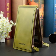 The Original Import Skin Wallet Color Green (Army