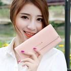 Dompet Wanita Kulit Import Asli Warna Pink (Merah Muda) 2