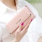 Dompet Wanita Kulit Import Asli Warna Pink (Merah Muda) 1