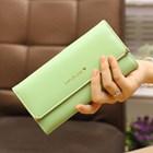 Dompet Wanita Kulit Import Asli Warna Green (Hijau Pupus) 1