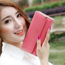 Dompet Wanita Kulit Import Asli Warna Red (Merah)
