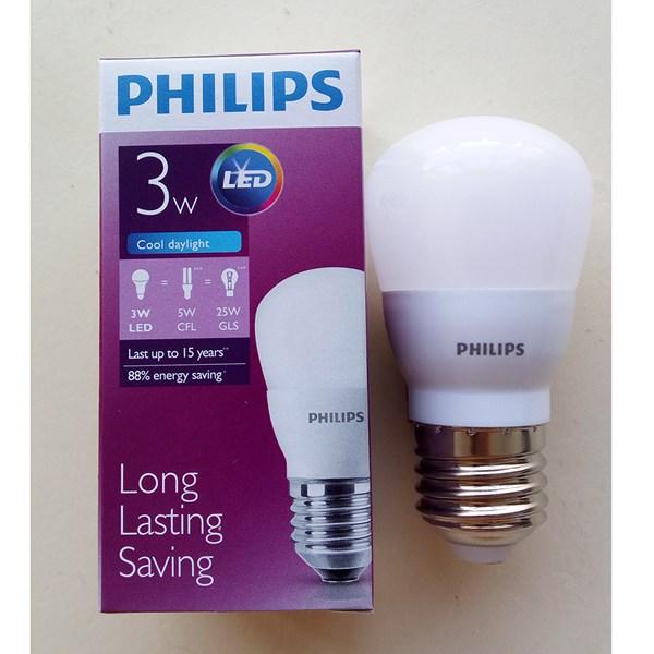 Lampu Philips LED Bulb 3 = 25W E27 CDL / WW