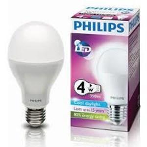 LAMPU PHILIPS LED Bulb 4W  E27 230V CDL - WW