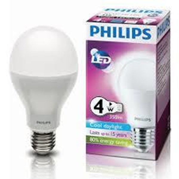 LAMPU PHILIPS LED Bulb 4W  E27 230V CDL - WW