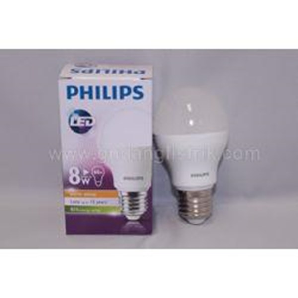Philips Lampu  LED Bulb 8W E27 230V CDL / WW