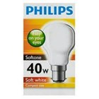 Lampu Philips Softone  40W E27 1