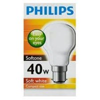 Lampu Philips Softone  40W E27