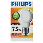Lampu Philips Softone 75W  E27 2