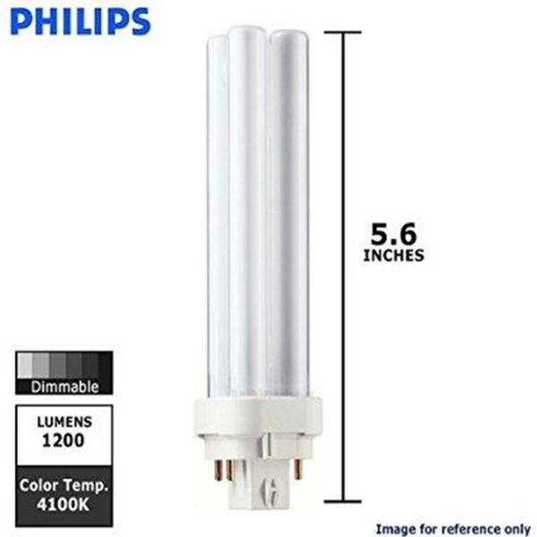 Philips Lampu PL-C 18W 827 - 840 - 865  4P