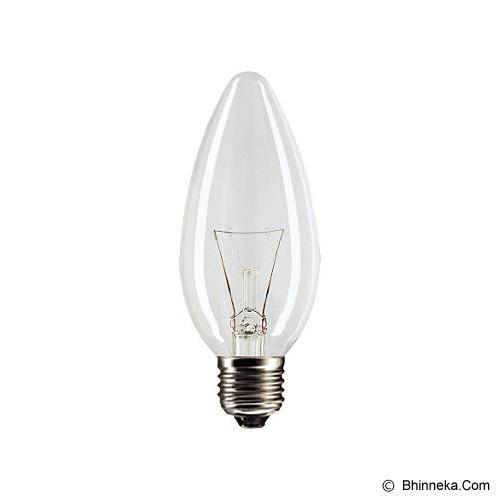 Jual LAMPU PHILIPS CANDLE CL&FR 25W Or 40W Harga Murah