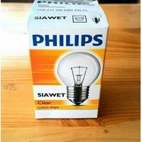 LAMPU PHILIPS CLEAR SIAWET P45