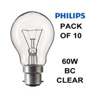 Lampu Philips Clear  60W or 75W E27