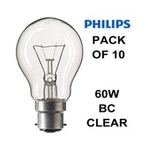 Lampu Philips Clear  60W or 75W E27