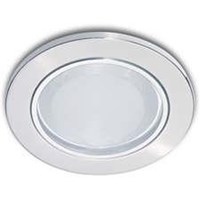Downlight Philips Essential 13801 glass Recs nickel 1*5w 1