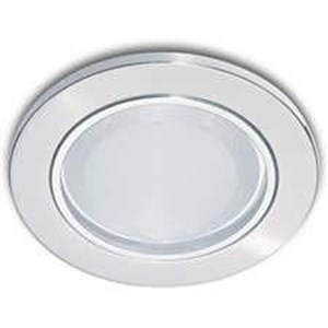 Downlight Philips Essential 13801 glass Recs nickel 1*5w