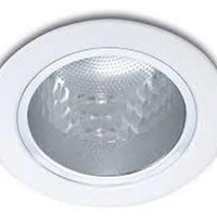 Philips Lampu Downlight 13801 Glass Recessed White 1x5W 230V