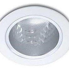Philips Downlight 13801 Glass Recessed White 1x5W 230V