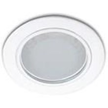 downlight Philips Essential   13803 glass rect white 1*11w