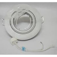 Philips Downlight  QBS026 MR16 GU5.3 WH 1