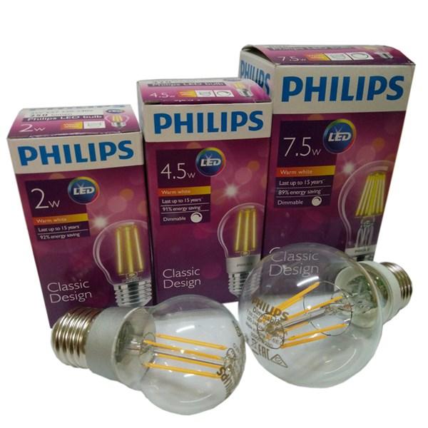 Lampu Philips LEDClassic A60 4.5W E27 Dim