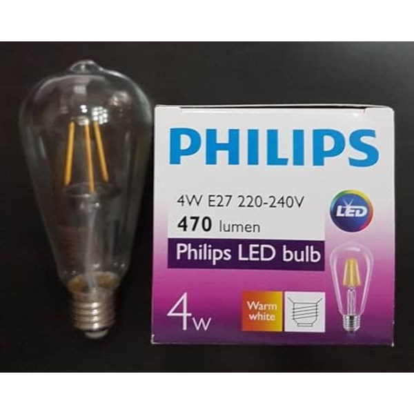 Lampu Philips LEDClassic ST64 4W E27 Non Dim