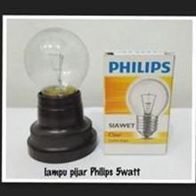 Lampu BohlamPHILIPS LAMPU PIJAR SIAWET 5 W