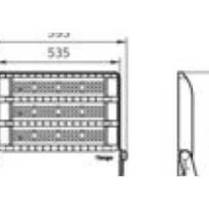 Dari Lampu Sorot LED PHILIPS Tango G3 BVP383 LED450/NW 400W  1