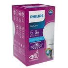 Philips LED Bulb MyCare 6W CDL or WW E27  1