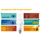 Philips LED Bulb MyCare 6W CDL or WW E27  2