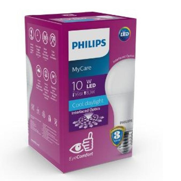 Philips LED Bulb MyCare 10W CDL or WW E27