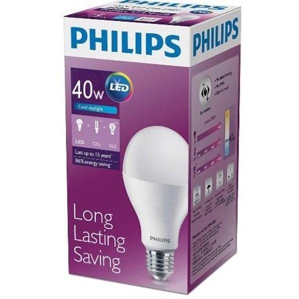 Philips LED Bulb HW 40W E27 CDL A130