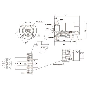 Dari Rotary Joint LUX DTF Series 3