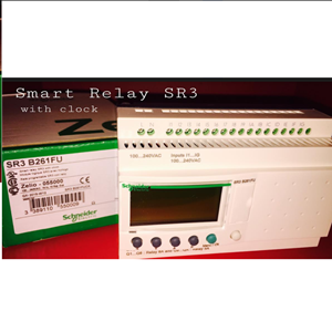 Smart Relay Schneider SR3 Dengan Clock