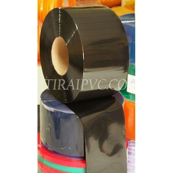 Plastik pvc curtain hitam