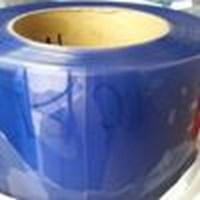 Tirai Plastik Pvc Blue Clear  Transparan