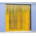 Gorden plastik pvc curtain Kuning( anti inset )  1