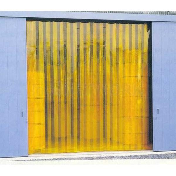 Gorden plastik pvc curtain Kuning( anti inset )