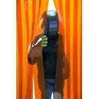 Tirai Strip PVC Curtain orange 2