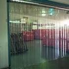 Tirai Mica plastik pvc curtain clear 1